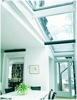 прозрачная крыша из стекла