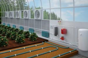 отопление теплицы из поликарбоната