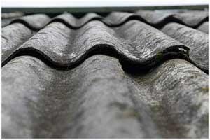 крыша из асбестоцементных листов