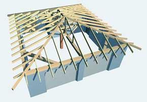 проектирование стропильной системы