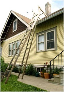 вариант устройства лестницы