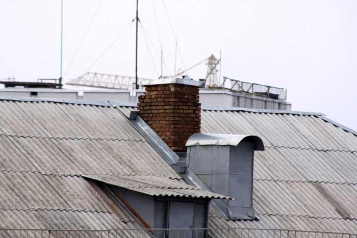 выход на крышу