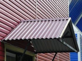 фронтон и фасад из профнастила