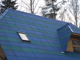 крыша из керамопласта