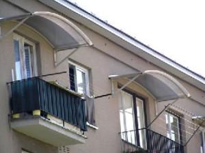 легкие навесы из поликарбоната