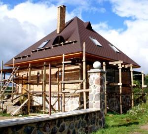 проектирование четырехскатной крыши