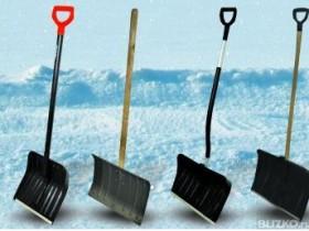 скребки и лопаты для уборки снега