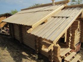 тесовая крыша