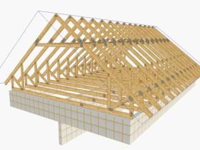 Треугольная конструкция фермы