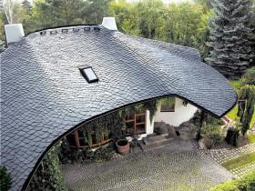 Крыша из сланцевого шифера