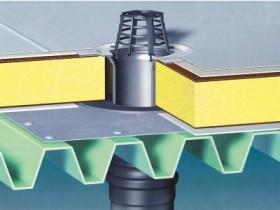 Устройство водоотвода с плоской крыши