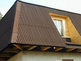 Крыша из еврошифера