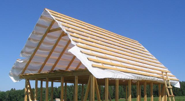 Как и из чего лучше сделать крышу дома 583