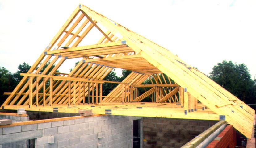 Внутренняя конструкция крыши