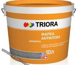 Краска для шифера Триора