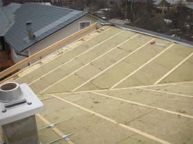 Утепляем крышу