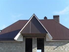 Крыша из профлиста