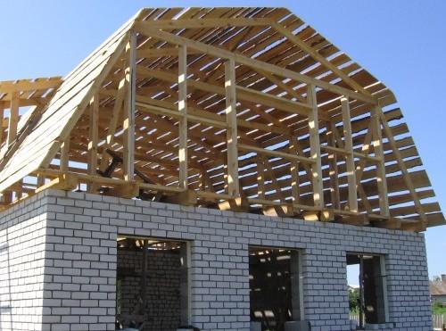 Схема конструкций крыш