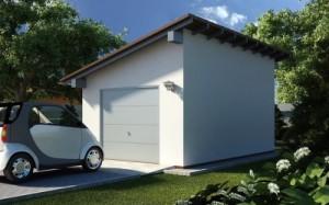 Постройка гаража дома