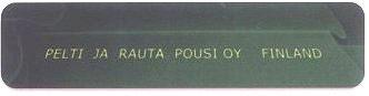 Штамп Pelti Ja Rauta